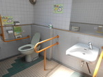 熊本市立辛島公園内公衆トイレ