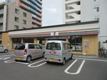 セブン⁻イレブン札幌南6条西18丁目店。