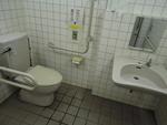 川越運動公園・屋外トイレ(駐車場付近)