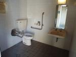 勝山公園松本清張記念館前駐車場内公衆トイレ