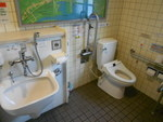 中島川公衆トイレ(長崎市管理)*