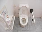 板柳町役場前 公衆トイレ