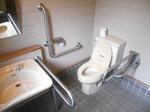 猿賀公園 公衆トイレ(平川市ふるさとセンター側)