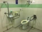 海老名中央公園地下駐車場トイレ