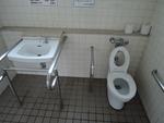 広島城 天守閣前広場 公衆トイレ*