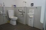 佐伯市役所・西駐車場 公衆トイレ*