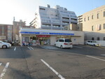ローソン札幌アサヒビール園前店。