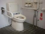 JR光の森駅・公衆トイレ