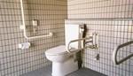 JR羽犬塚駅裏・公衆トイレ