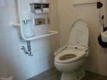 JR川内駅・自由通路の公衆トイレ(西口1F)