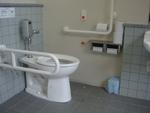 JR羽犬塚駅前・公衆トイレ