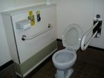 道の駅 メルヘンの丘めまんべつの多目的トイレ