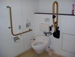 JR斜里駅 駅舎内の多目的トイレ