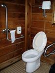 濤沸湖白鳥公園野鳥観察舎の多目的トイレ