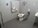 小國神社 駐車場トイレ*
