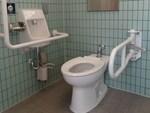 馬場公園の公衆トイレ