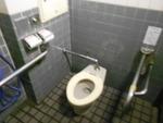 横浜開港資料館付近の公衆トイレ(横浜市管理)